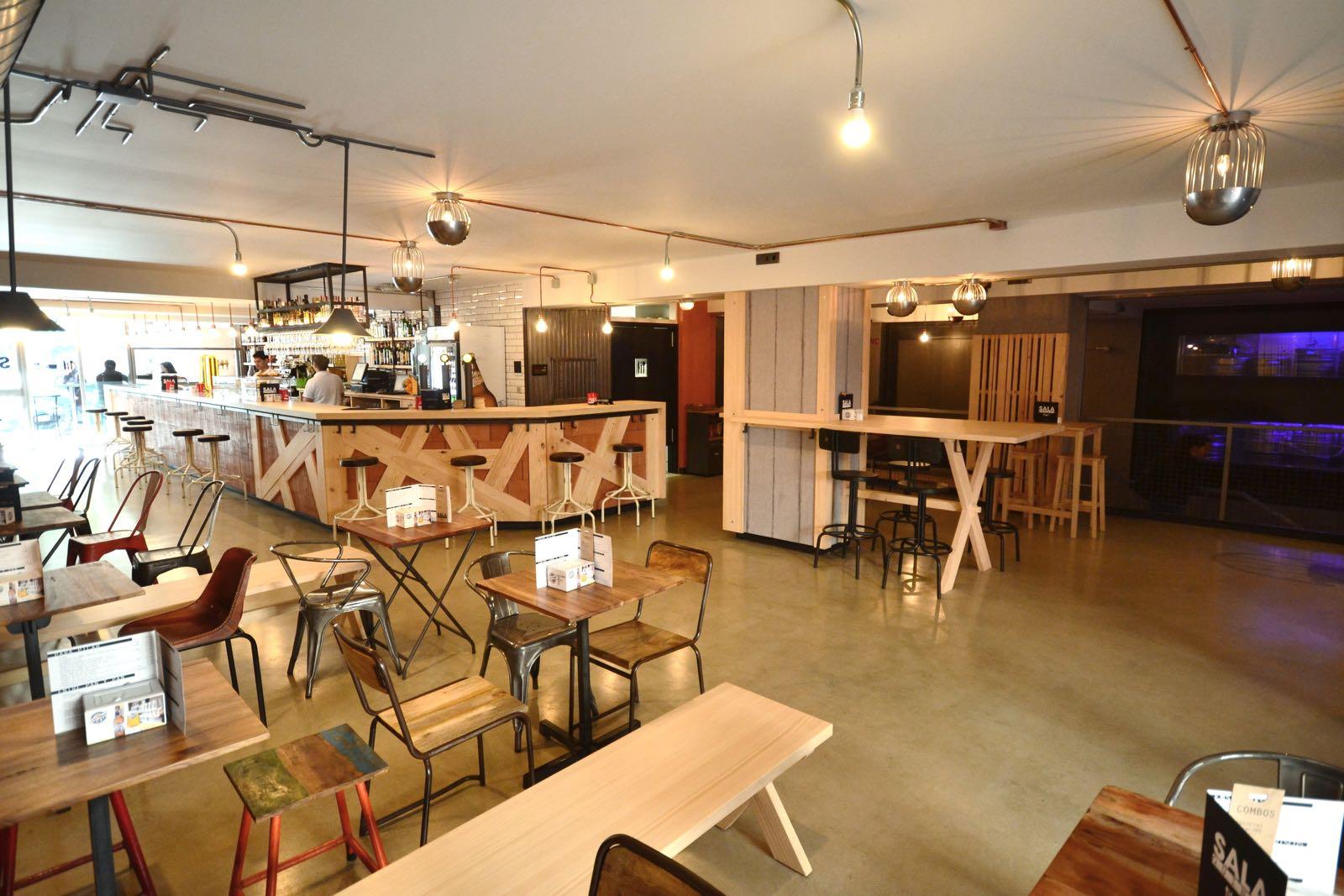 sala quince restaurante en burgos